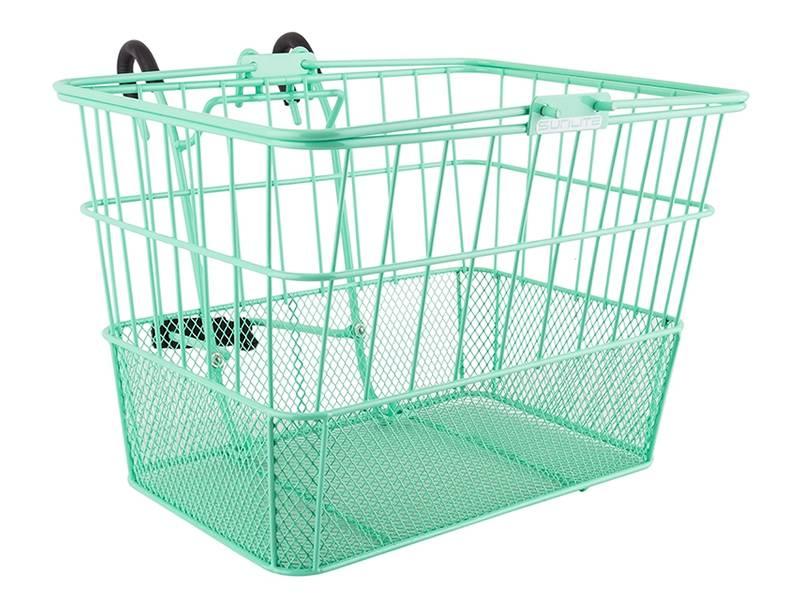 Metal Bicycle Baskets Fit for Mountain Bike, Folding Bike and Mini Bike