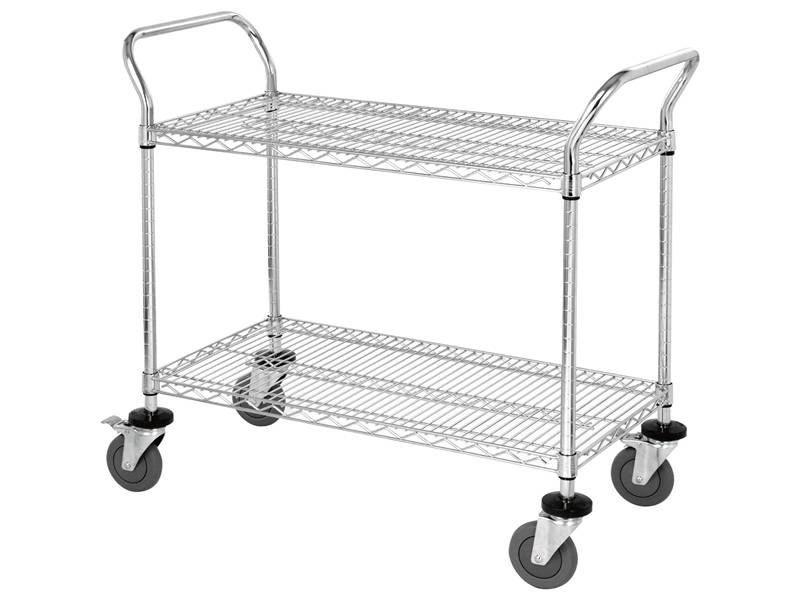 Wire Cart Used for Supermarket, Home, Hospital and All Kinds of Stores