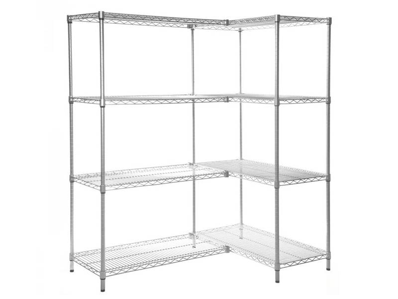 Wire Shelves Used in Warehouse, Supermarket, Bookstore, Home