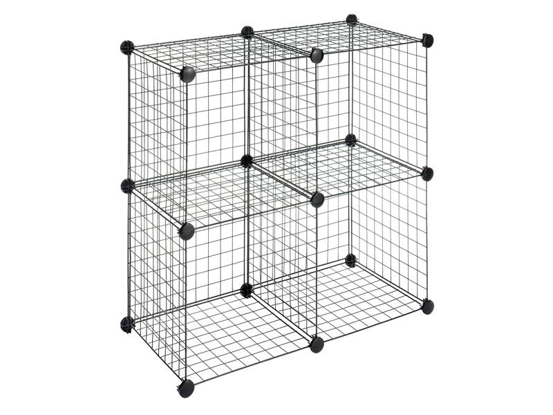 Wire Shelving Allow to Store Anything, Such As Files, Carton, Clothes