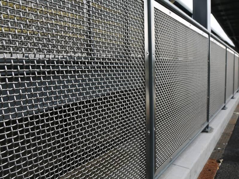 Забор из стали