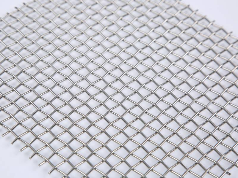 The picture shows one part of stainless steel woven wire mesh.